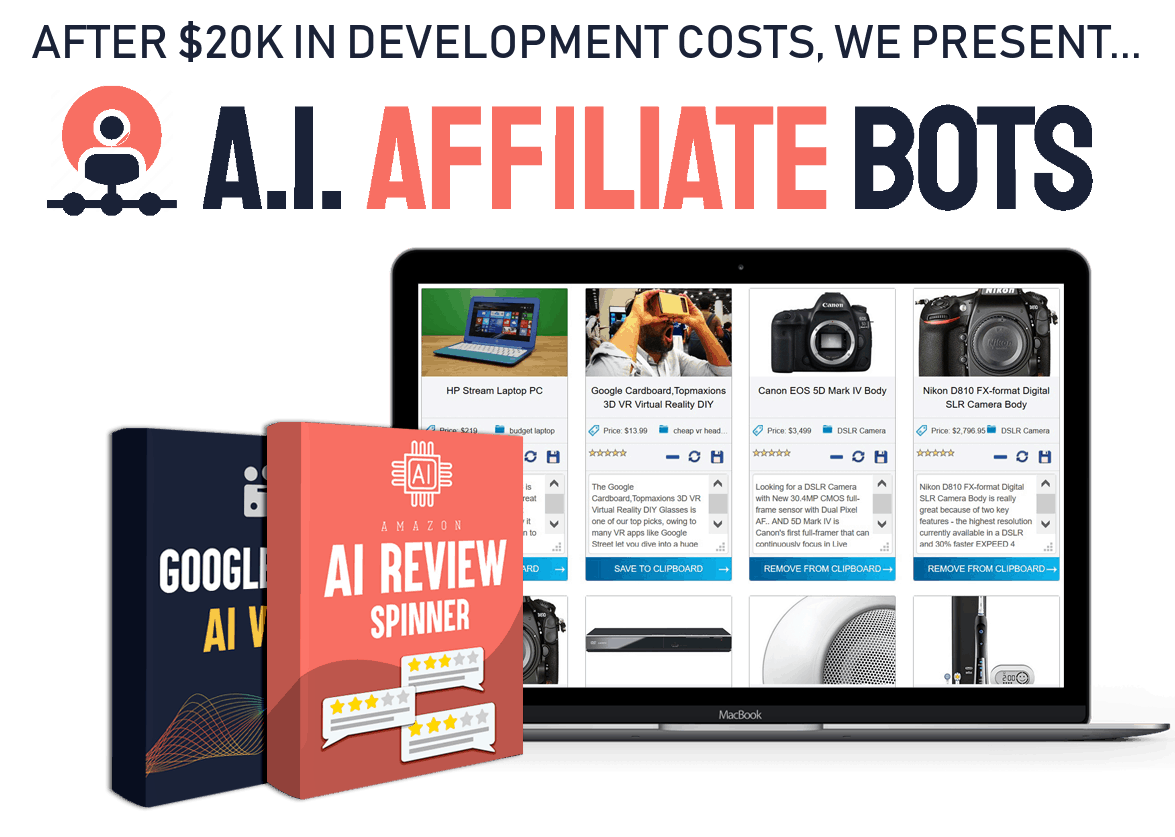 AI Affiliate Bots Review, Demo and Best Bonuses