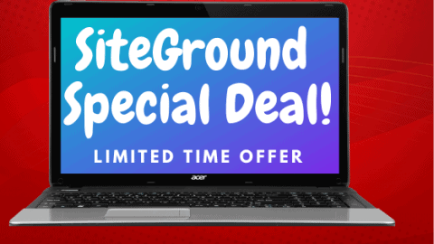 SiteGround Web Hosting Deal