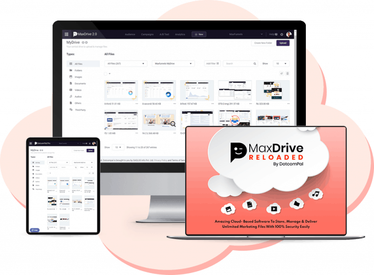 MaxDrive Reloaded Review And Demo