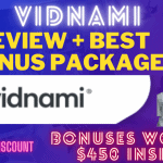 Vidnami Review – Breakthrough Features | Special Discounts | Pros & Cons | Special Bonuses
