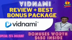 Vidnami Review – Breakthrough Features | Special Discounts | Pros & Cons | Special Bonuses